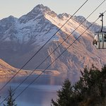 Restaurante y telecabina Skyline en Queenstown