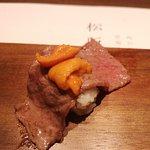 海膽是甜的!!!!!!!超好吃!幸福到要升天