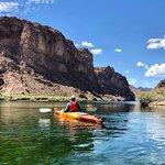 Halve dag kajaktocht in de Black Canyon vanuit Las Vegas