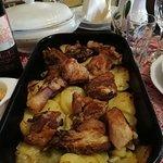 Krompirača sa svinjskim rebrima
