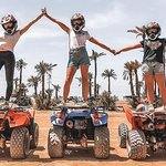 Book a quad biking experience and I will give you a gift camel ride