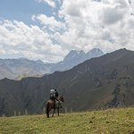 Horse riding in Kyrgyzstan, Truly Nomadic Land