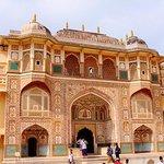 從德里出發的2天齋浦爾之旅的汽車和司機與交通和觀光