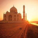 Privat kort 2 dage i Agra besøger Taj Mahal Solopgang og solnedgang fra New Delhi