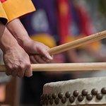 Japansk Taiko Trommelektronik i Kyoto