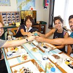 """Experience all of Japanese culture and Japanese food experience classes """"origami, udon, Japanese food, green tea, calligraphy"""" in 4 hours"""