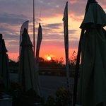aydın Balık' ta gün batımı..