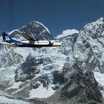 喜馬拉雅山上空飛行,包括加德滿都的珠穆朗瑪峰