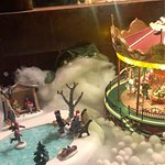 """Weihnachtszauber im """"Blauer Aff"""" - perfekte, detailgetreue Dekoration in jedem Winkel des Lokals"""