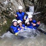 Aventura Exclusiva de Canyoning no Lago Bled