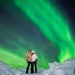 Excursão para grupos pequenos pelas luzes do norte, saindo de Tromso, com dicas de fotografia inclusas