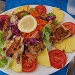 le poisson grillé du jour
