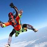 Tandem Skydive a 14,000 pies sobre el oeste de Georgia