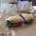 Titus Deli hoagie sandwich