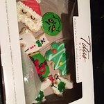 Titus Bakery cookie box.