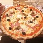 Pizza, nella media.