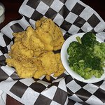 Rolla, MO Tater Patch catfish basket with broccoli
