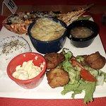 la langouste plat typique de la Martinique