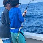 Tuna bite and sail bit was on 38 sails and a 120 lb Tuna.