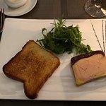Foie gras et brioche