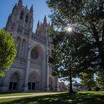 Entrada a la Catedral Nacional de Washington