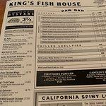 صورة فوتوغرافية لـ King's Fish House
