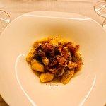 Gnocchi di zucca con pancetta croccante e semi di papavero