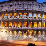 English Guided tour in Colosseum and Palatine Hill with access to Roman Forum