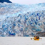 Mendenhall Glacier Canoe Paddle and Trek