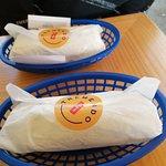 Burritos con excelente presentación