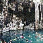 Tour Magic Town Izamal & 3 cenotes Santa Barabara