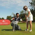 Lección de golf privada