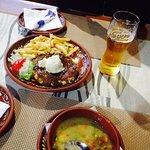 Первый ужин в Черногории