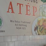 Mie Rebus Tradisional ASLI BELITUNG sejak 1973