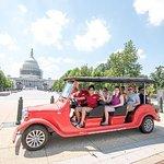 电动车国会山和DC纪念碑之旅