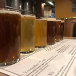 A flight of the craft beer