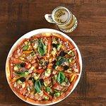 sour dough farm fresh pizza