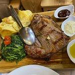 Posta de carne bastante boa!
