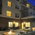 Enjoy picturesque Colorado sunsets and fresh mountain air on our patio with firepit and BBQ gril