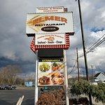 Diner Sign.