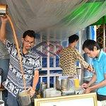 在Chatuchak市场的曼谷食物