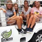 TukTuk Tour through historic Antwerp 2.5h