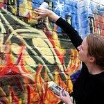 Graffiti mural workshop