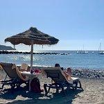 Bluebloos beach bar Foto