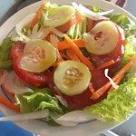 Saladas do melhor que há!