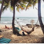 Great vives and chill place by the beach