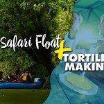 Safari Float with Tortilla making Tour from La Fortuna-Arenal