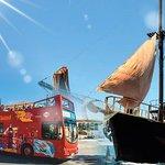 Hop On - Hop Off Open Bus Tour (Limassol) & Pirate Cruise