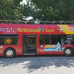 City Sightseeing hop-on hop-off-bustour door Korfoe