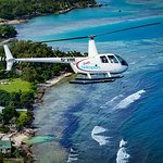 A Taste of Port Vila 7 Minute Scenic Helicopter Tour